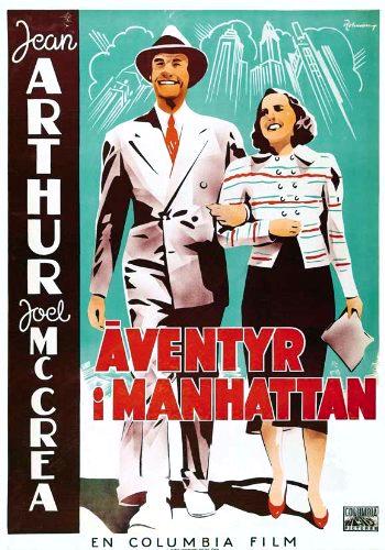Jean Arthur and Joel McCrea in Adventure in Manhattan (1936)