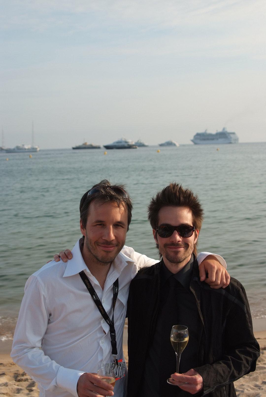 Filmmaker brothers Denis and Martin Villeneuve at Cannes 2008