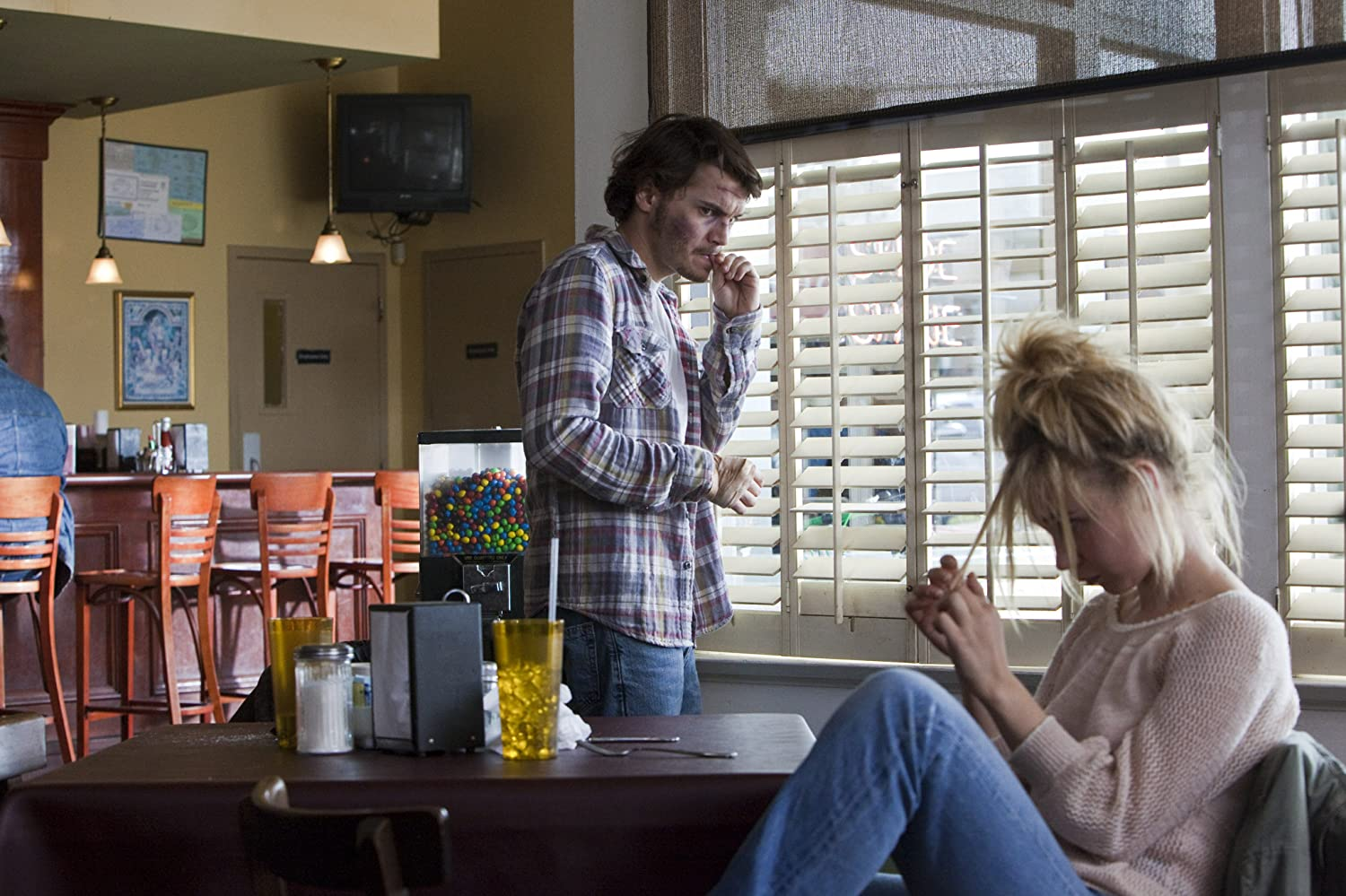 Emile Hirsch and Juno Temple in Killer Joe (2011)