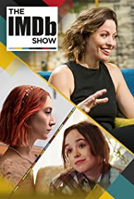 Kay Cannon, Elliot Page, and Saoirse Ronan in The IMDb Show (2017)