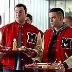 Mark Salling and Max Adler in Glee (2009)