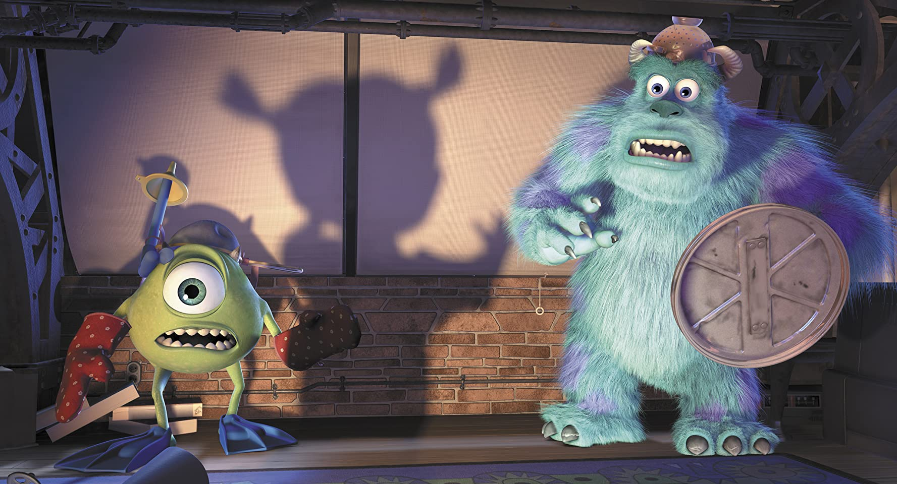 Billy Crystal and John Goodman in Monsters, Inc. (2001)