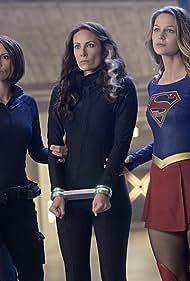 Chyler Leigh, Laura Benanti, and Melissa Benoist in Supergirl (2015)