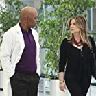 Jessica Capshaw and James Pickens Jr. in Grey's Anatomy (2005)