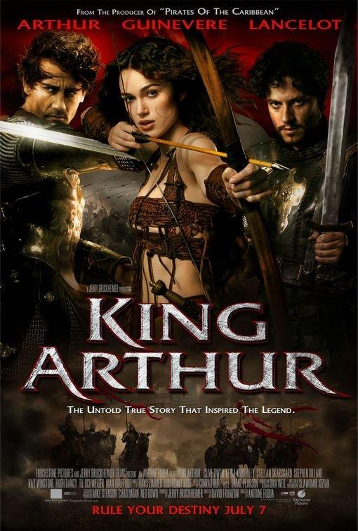 Ioan Gruffudd, Keira Knightley, and Clive Owen in King Arthur (2004)