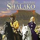 Brigitte Bardot and Sean Connery in Shalako (1968)