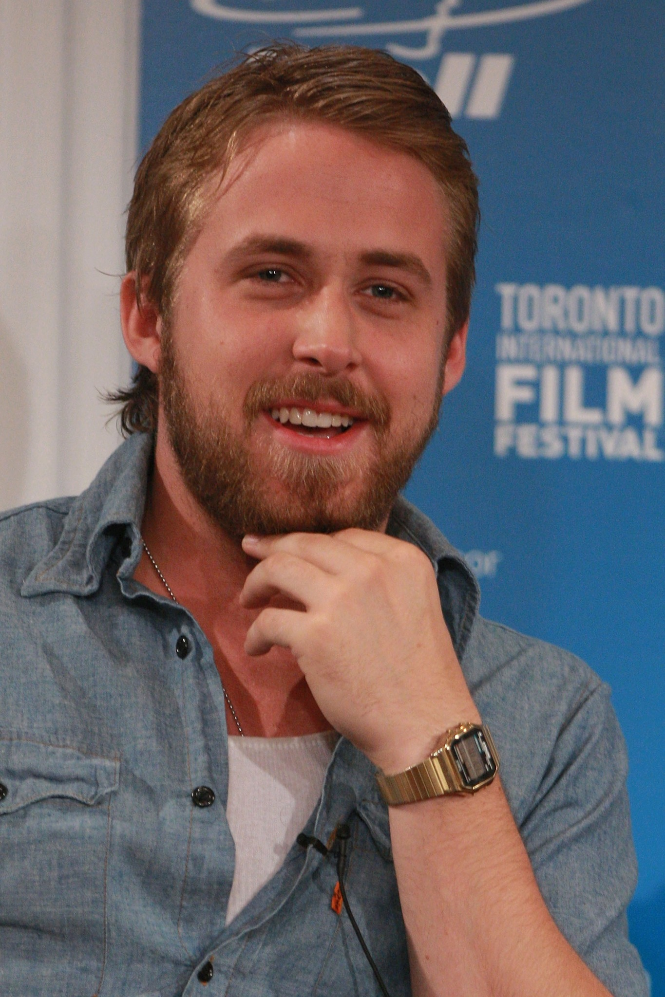 Ryan Gosling at an event for Lars and the Real Girl (2007)