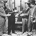 Groucho Marx, Chico Marx, Harpo Marx, Zeppo Marx, and The Marx Brothers in The Cocoanuts (1929)