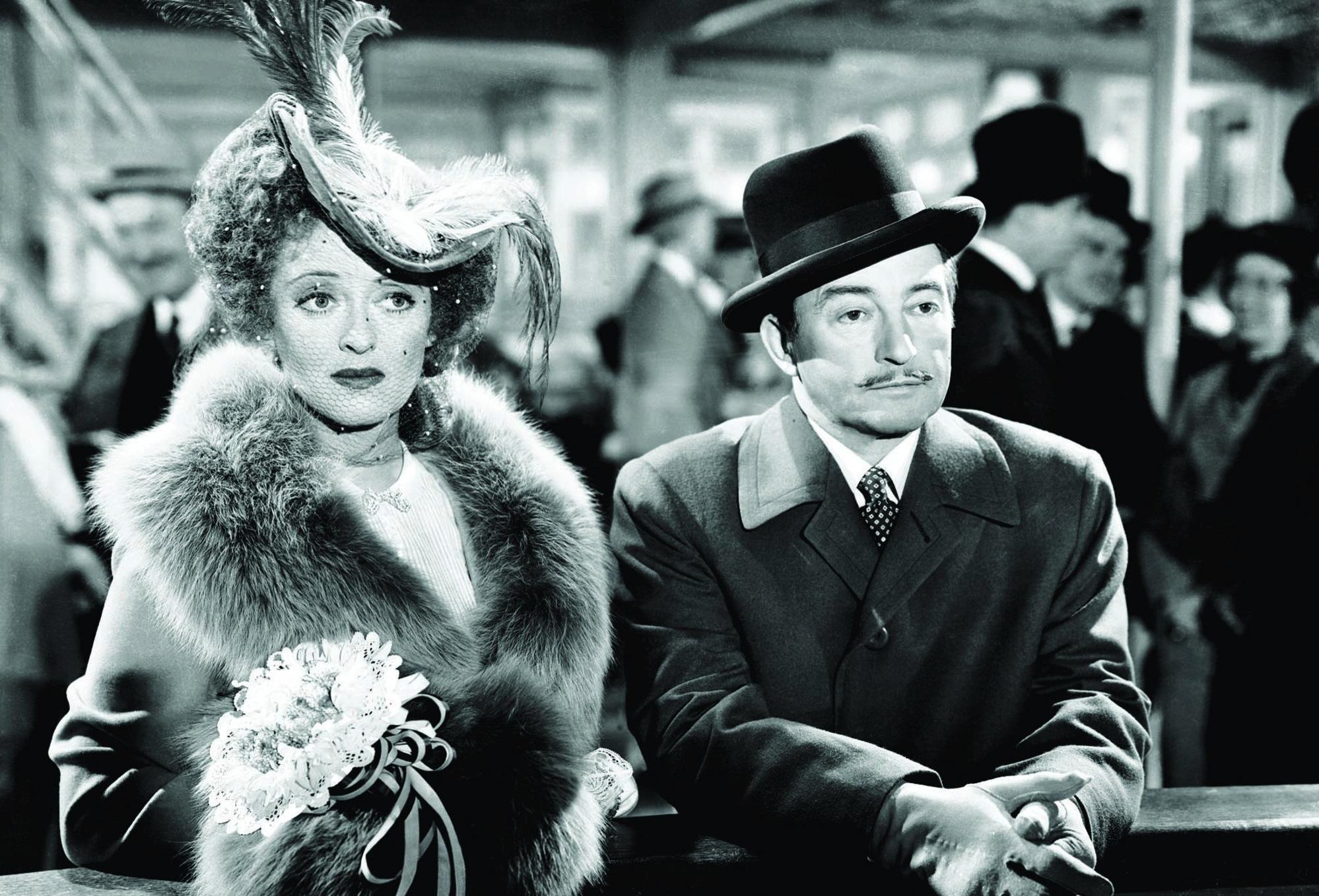 Bette Davis and Claude Rains in Mr. Skeffington (1944)