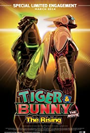 Tiger & Bunny: The Rising Poster