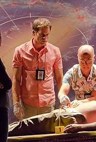 Michael C. Hall, C.S. Lee, and David Zayas in Dexter (2006)