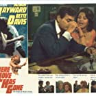 """From left to rigt Mike Connors and Lisa Seagram, Below Betty Davis and Susan Hayward in Feature Film """"Where Love Has Gone"""""""