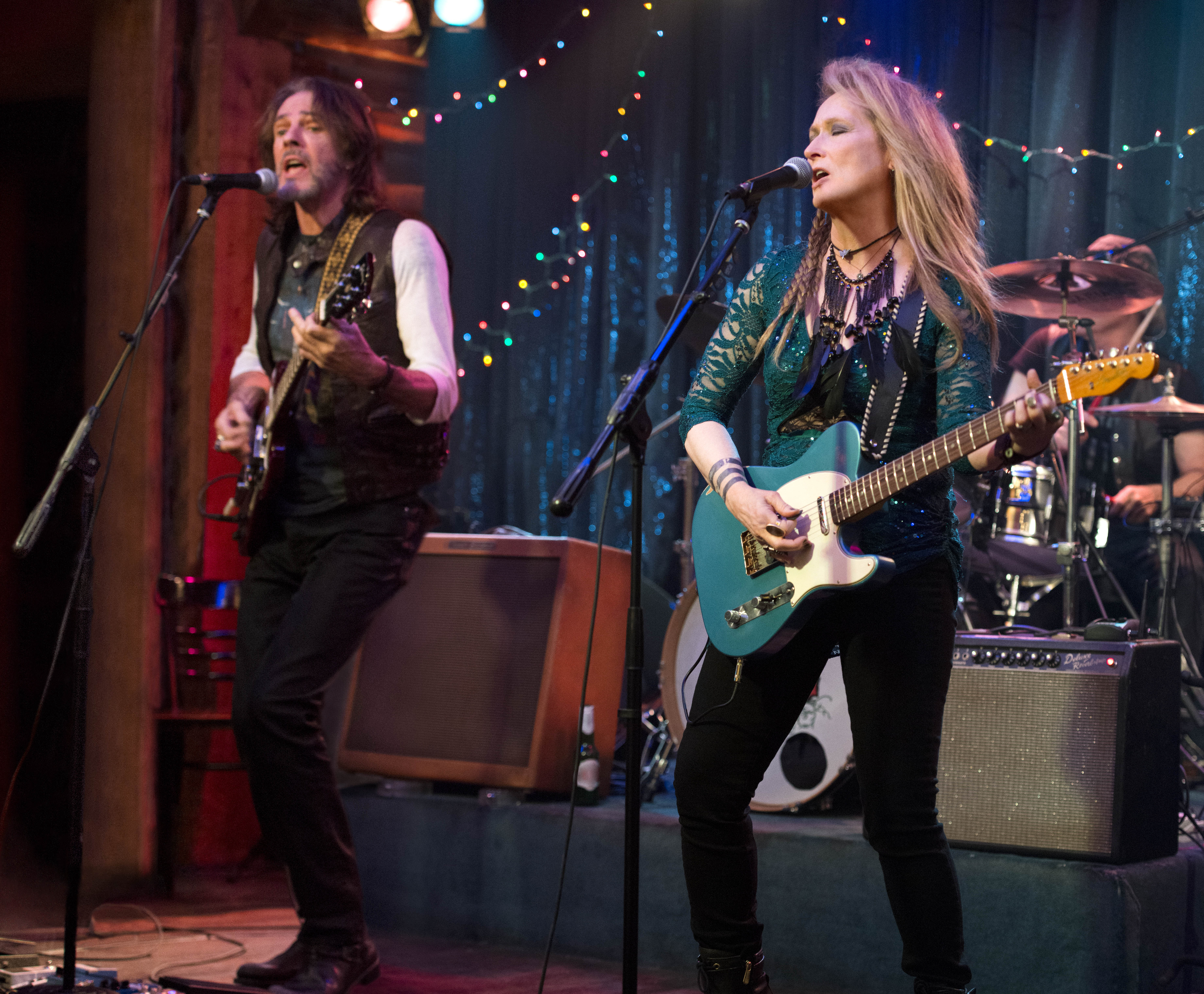 Meryl Streep and Rick Springfield in Ricki and the Flash (2015)