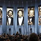 Robert De Niro, Michael Douglas, Anthony Hopkins, Ben Kingsley, and Adrien Brody in The 81st Annual Academy Awards (2009)