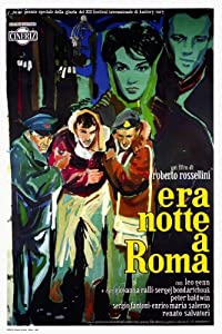 Sites in downloading movies Era notte a Roma by Roberto Rossellini [320p]