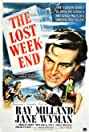The Lost Weekend (1945) Poster