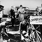 Humphrey Bogart, Claude Rains, and Conrad Veidt in Casablanca (1942)