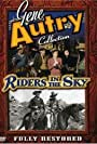 Gene Autry, Pat Buttram, Gloria Henry, Mary Beth Hughes, and Champion in Riders in the Sky (1949)
