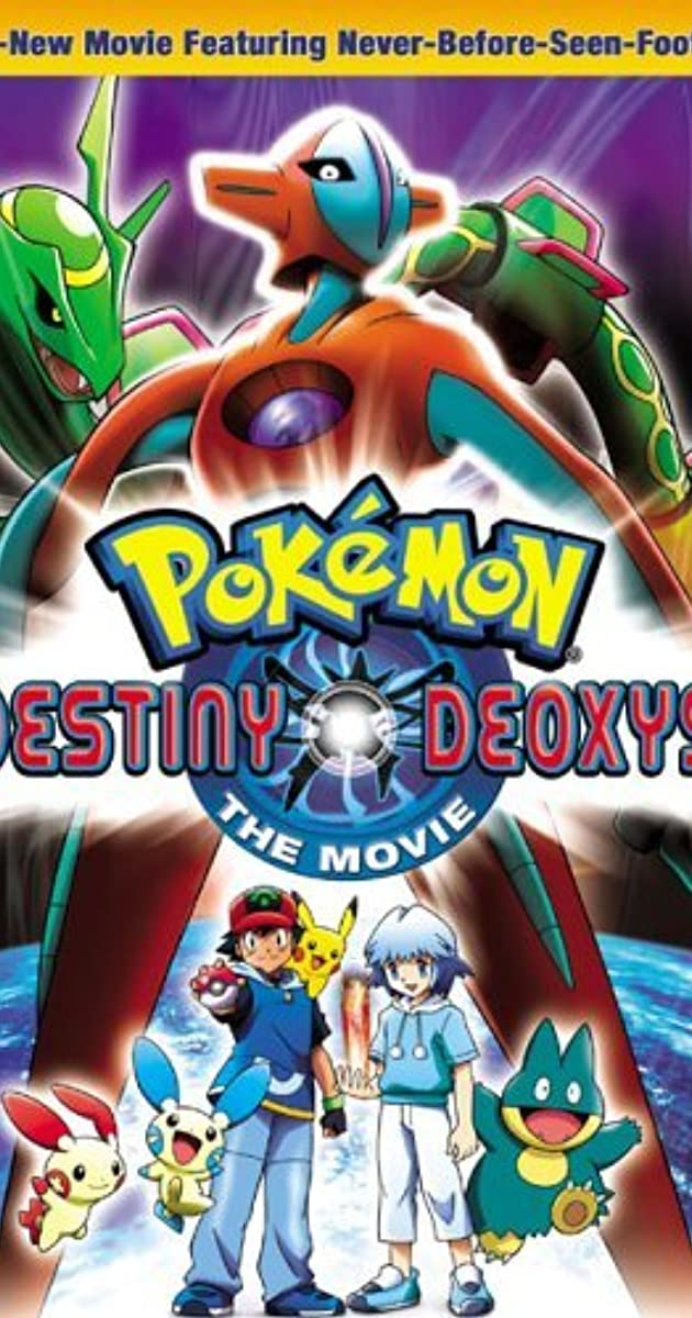 Pokemon The Movie Destiny Deoxys 2004 Imdb