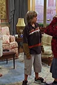 Kim Rhodes, Cole Sprouse, and Dylan Sprouse in The Suite Life of Zack & Cody (2005)