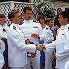 Tom Cruise, Val Kilmer, Tom Skerritt, Rick Rossovich, and Adrian Pasdar in Top Gun (1986)
