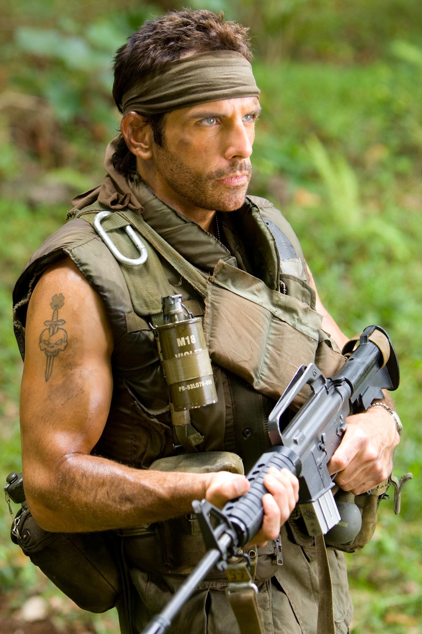 Ben Stiller in Tropic Thunder (2008)