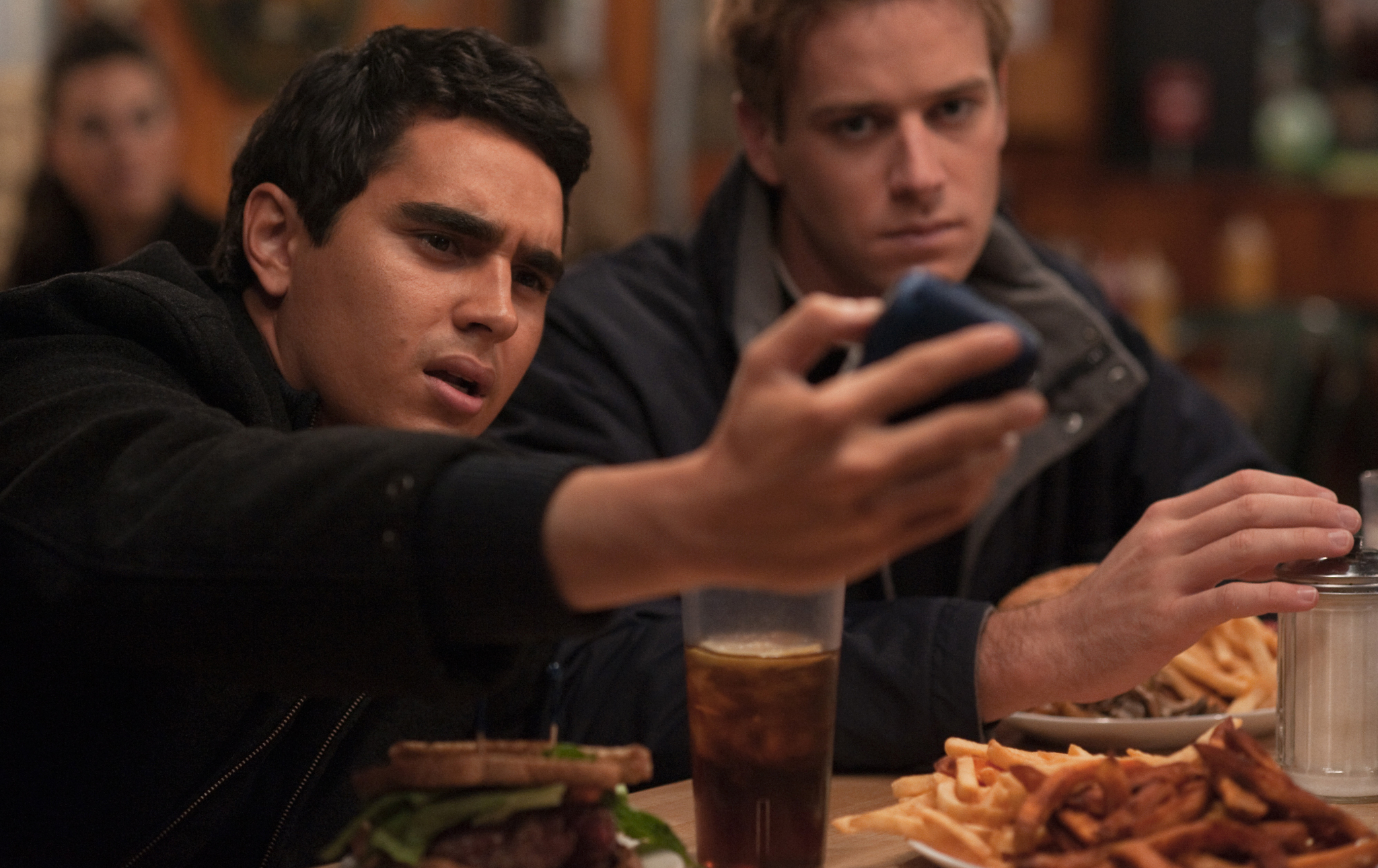 Max Minghella and Armie Hammer in The Social Network (2010)