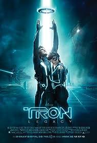 Jeff Bridges, Olivia Wilde, and Garrett Hedlund in Tron (2010)