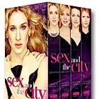 Kim Cattrall, Sarah Jessica Parker, Kristin Davis, and Cynthia Nixon in Sex and the City (1998)