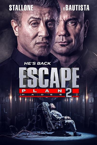 Poster of Escape Plan 2: Hades 2018 Dual Audio 720p Download