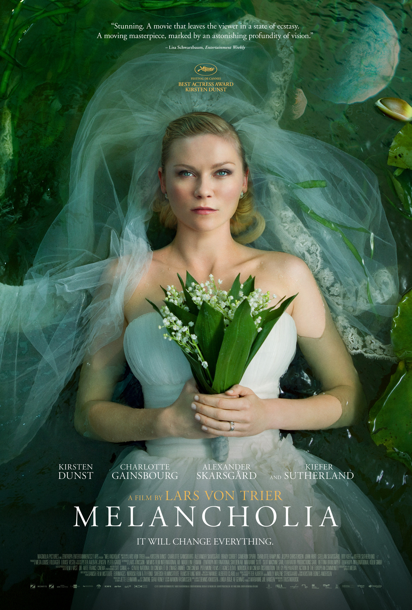 Melancholia movie cover