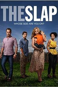 Alex Dimitriades, Melissa George, Jonathan LaPaglia, and Sophie Okonedo in The Slap (2011)