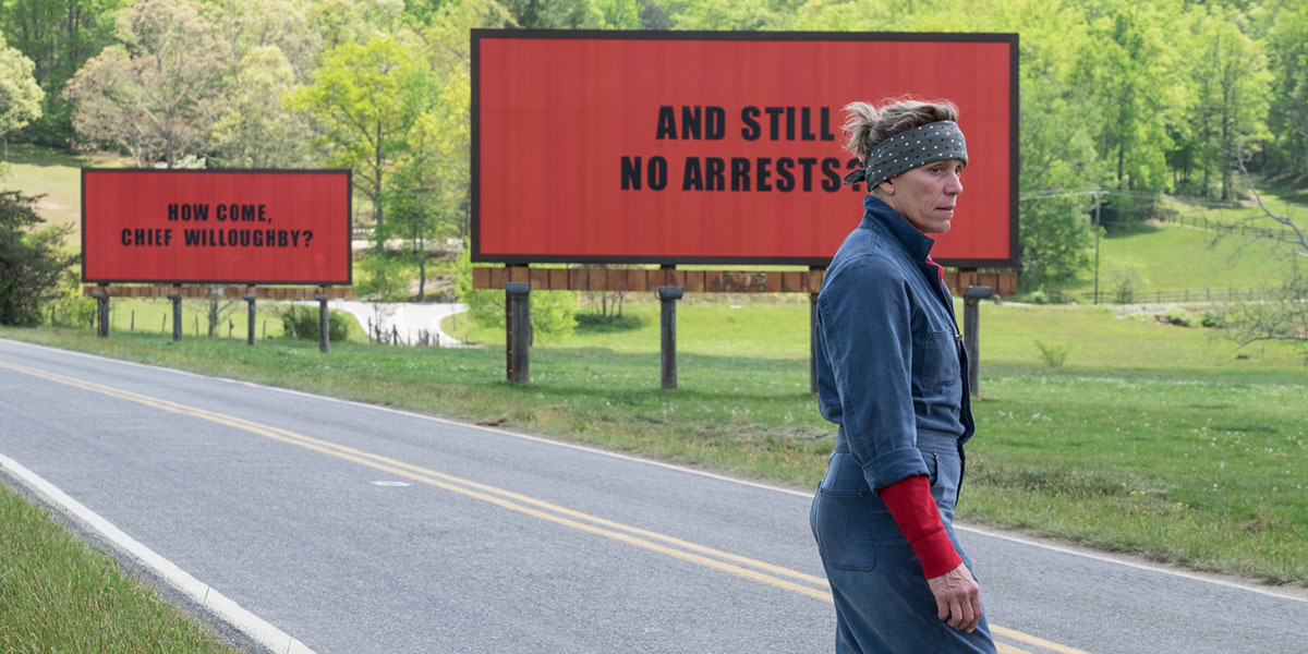 Frances McDormand in Three Billboards Outside Ebbing, Missouri (2017)