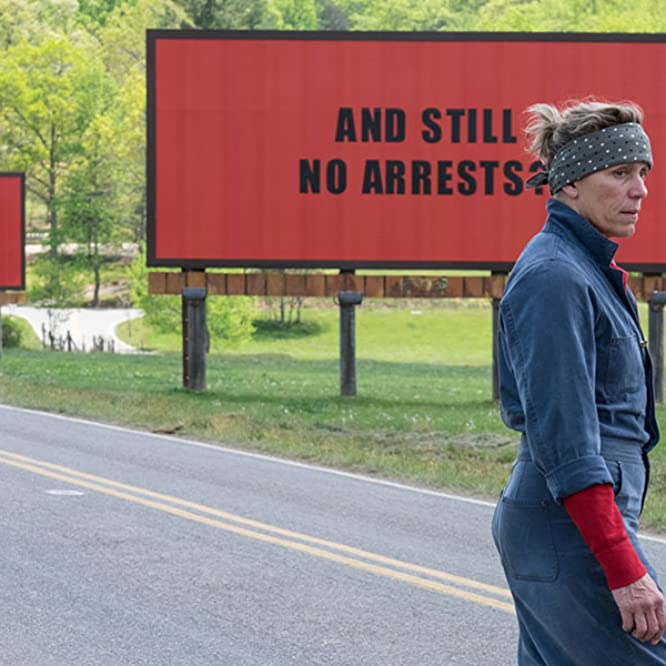 Frances McDormand in Three Billboards Outside Ebbing, Missouri (2017)
