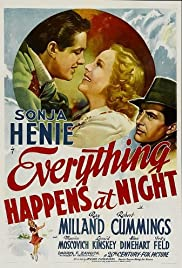 Everything Happens at Night (1939) Poster - Movie Forum, Cast, Reviews