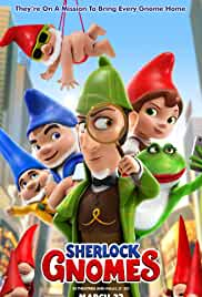 Sherlock Gnomes 2018 720p BluRay x264 Dual ORG Hindi PGS English Subtitle English Audio