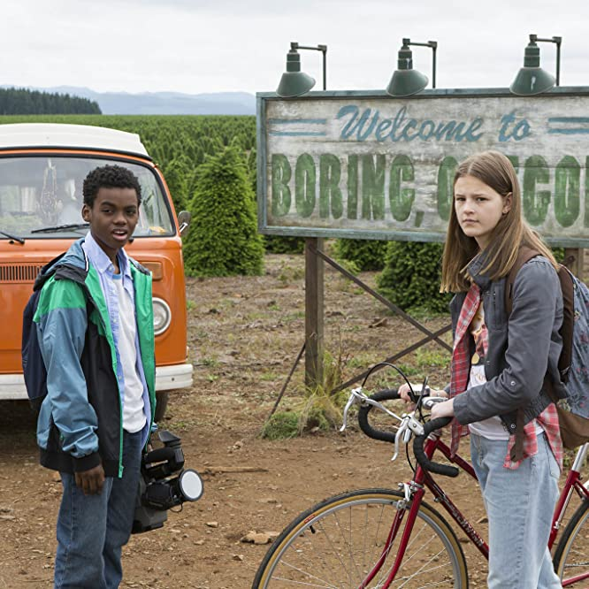 Peyton Kennedy and Jahi Di'Allo Winston in Everything Sucks! (2018)