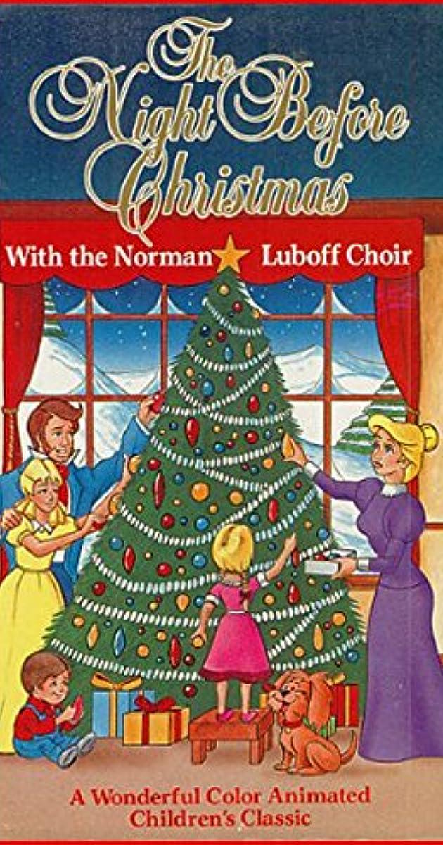 The Night Before Christmas Tv Movie 1968 Imdb