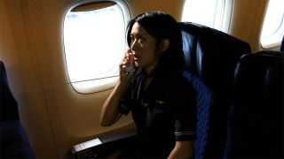 "Betty Ouyang portrays 'American Airlines Flight Attendant Betty Ong' in the dramatic feature ""The Last War Crime"""