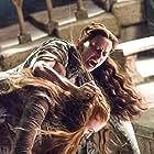 Kate Dickie and Sophie Turner in Game of Thrones (2011)