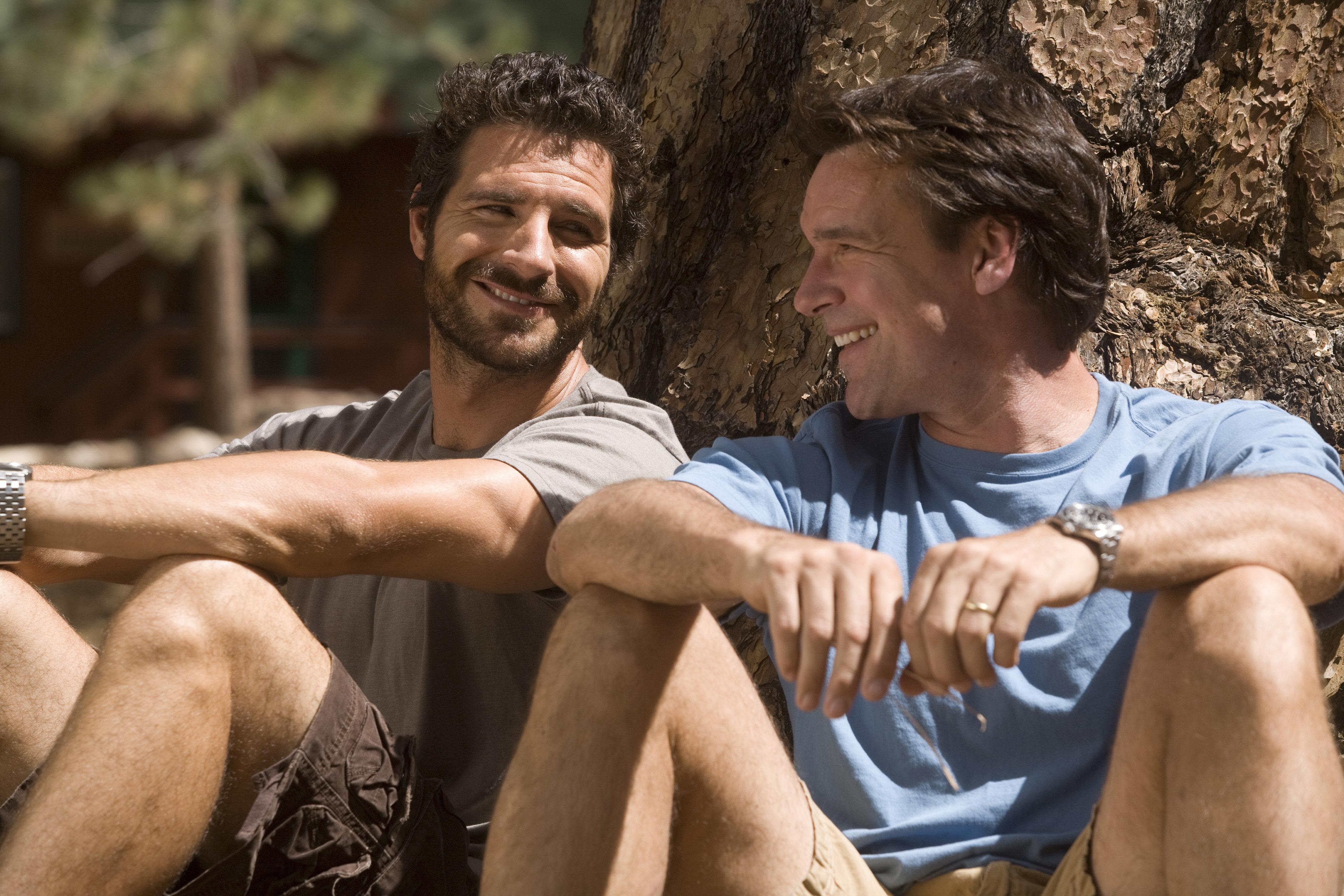 David James Elliott and Ed Quinn in The Rainbow Tribe (2008)
