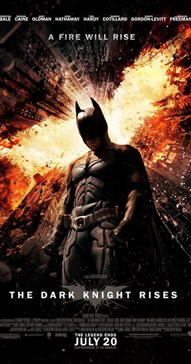 Tamsos riterio sugrižimas / The Dark Knight Rises (2012)