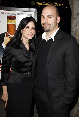 Selma Blair and Ahmet Zappa at an event for Thank You for Smoking (2005)