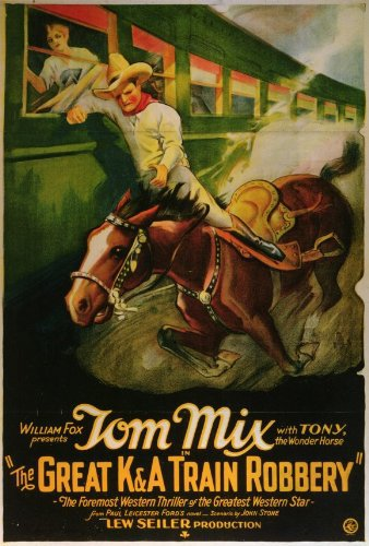 Tom Mix and Tony the Horse in The Great K & A Train Robbery (1926)