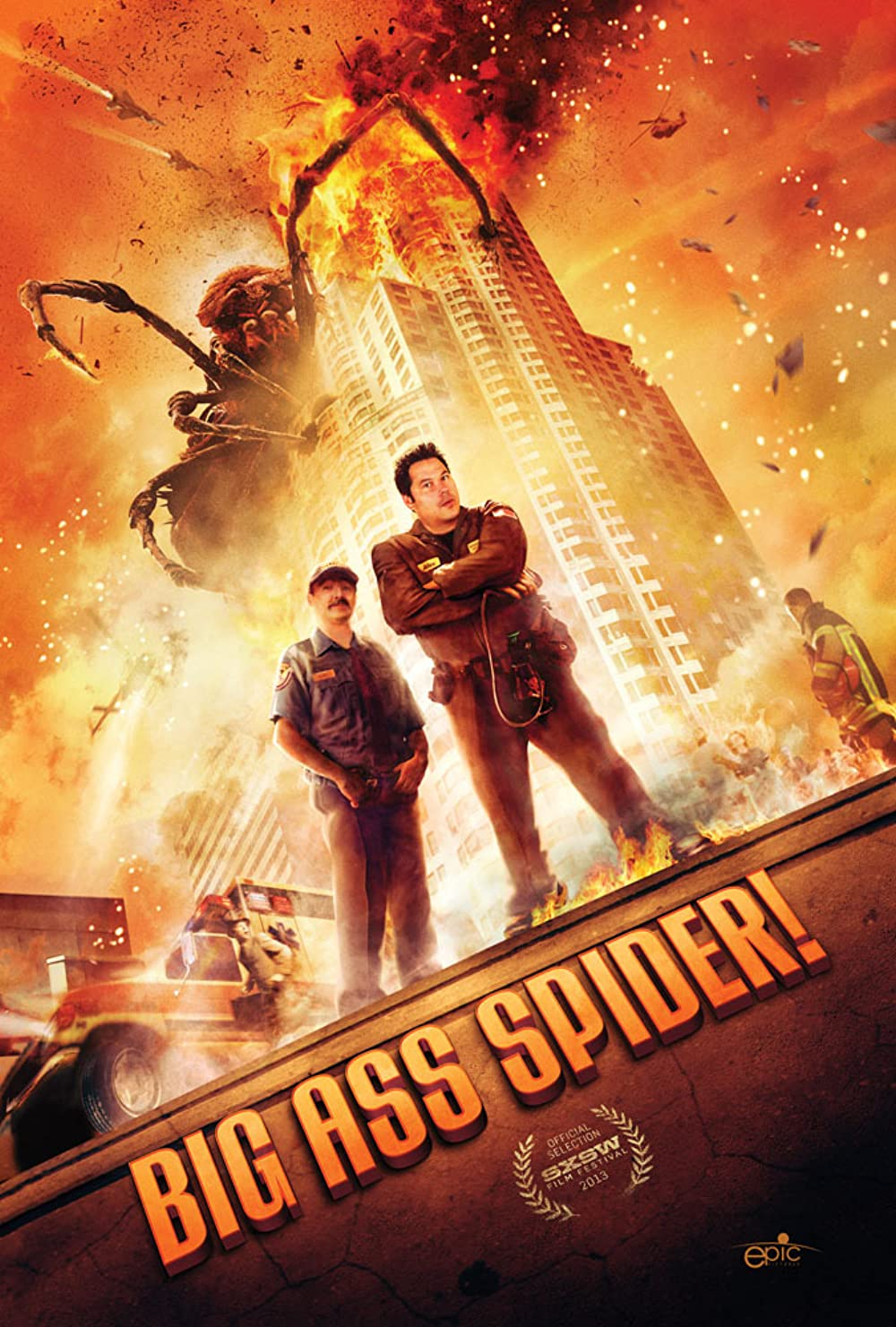 Big Ass Spider! 2013 Dual Audio Hindi 290MB BluRay ESub Download