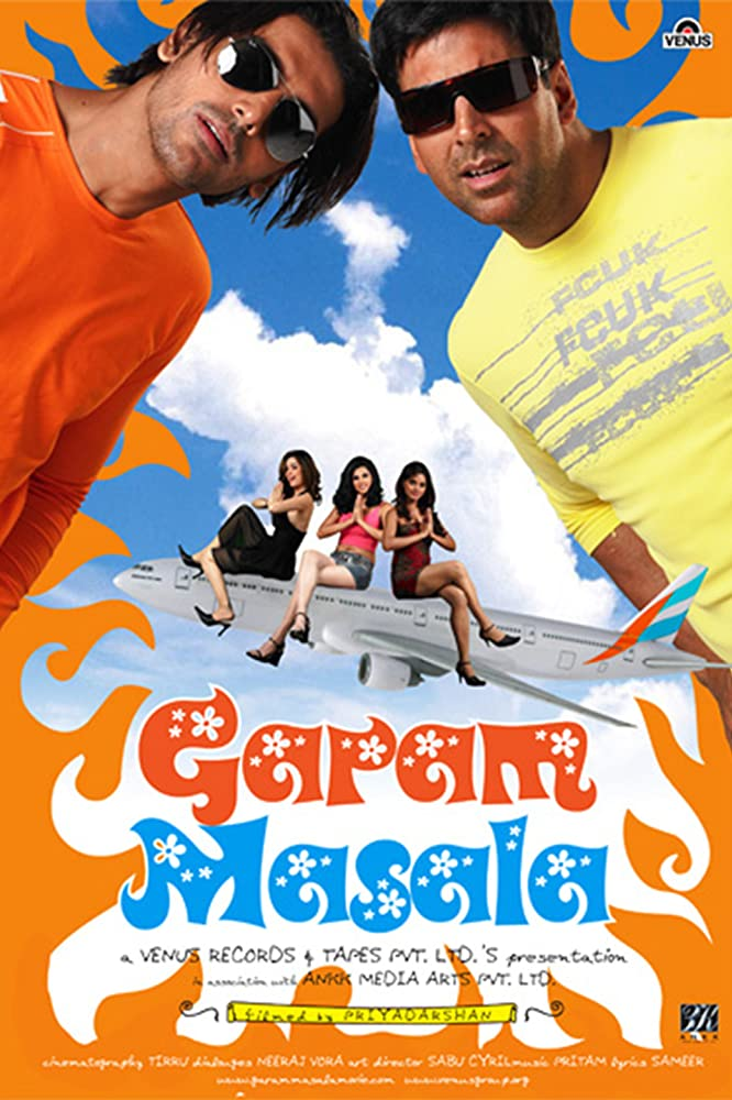 Garam Masala 2005 Hindi 450MB DVDRip Download