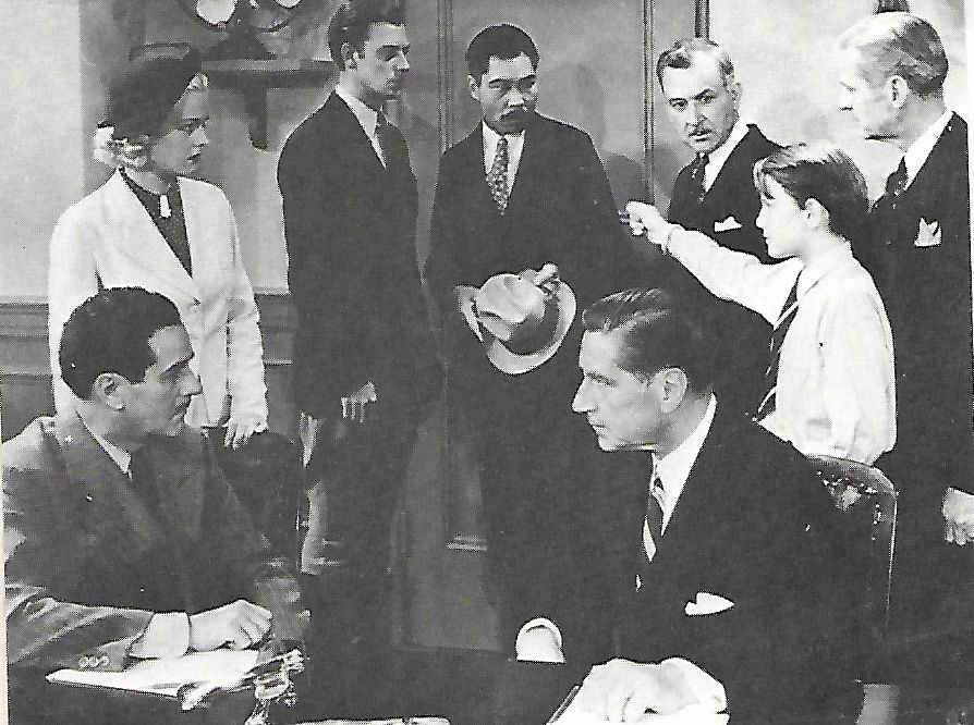 Hooper Atchley, John 'Dusty' King, James B. Leong, Jackie Morrow, Jean Rogers, C. Montague Shaw, and Robert Warwick in Ace Drummond (1936)