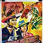 Sammy Baugh and Pauline Moore in King of the Texas Rangers (1941)