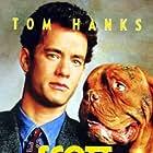 Tom Hanks and Beasley the Dog in Turner & Hooch (1989)
