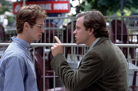 Hayden Christensen and Peter Sarsgaard in Shattered Glass (2003)